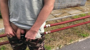 Playful homosexual chap happily takes this cock in the bum