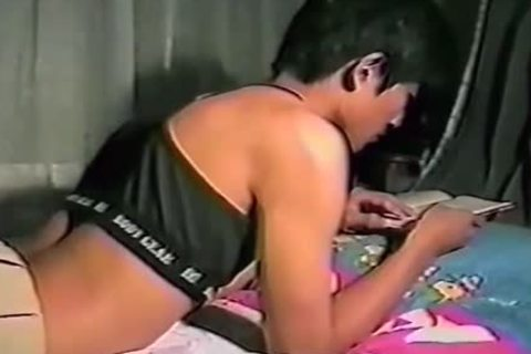 homosexual Korean teen receives drilled And cum A Lot